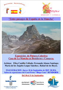 Cartel Exposicion de Pintura CLM 2015