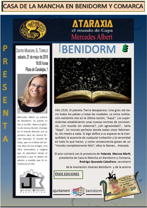 Cartel Ataraxia Benidorm-1