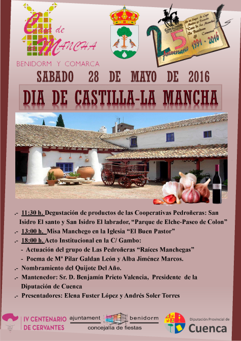 Dia de Castilla La Mancha 2016-7