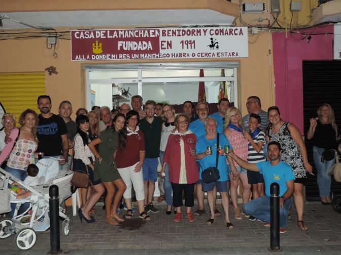 La Casa de La Mancha en Benidorm y Comarca inaugura su sede en su XXV aniversario